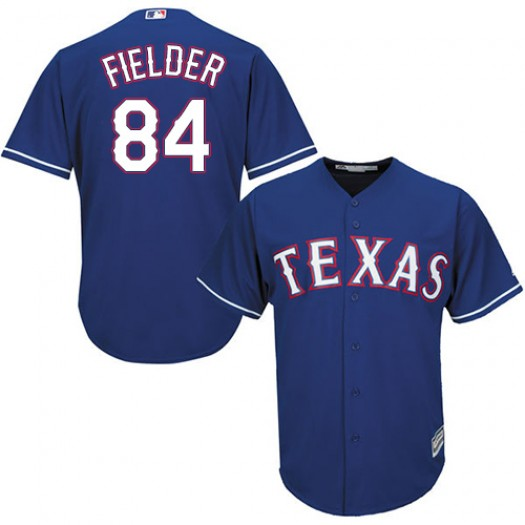 Men's Majestic Prince Fielder Texas Rangers Player Authentic Royal Blue Alternate 2 Cool Base Jersey